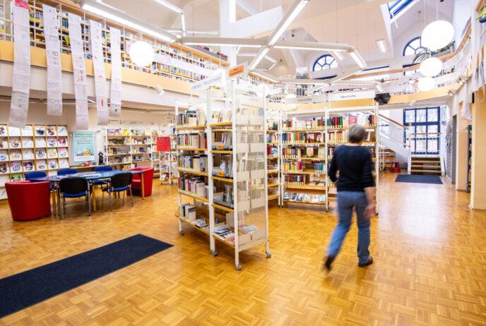Stadtteilbibliothek Erle am 20.01.2020 in Gelsenkirchen. Foto: Stadt Gelsenkirchen/ Caroline Seidel