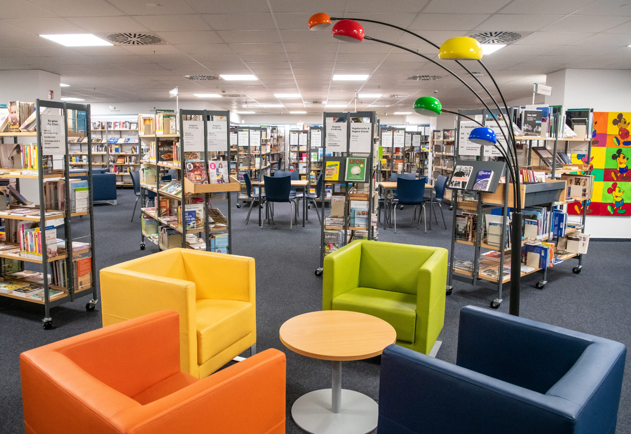 Stadtteilbibliothek Buer am 5.02.2020 in Gelsenkirchen. Foto: Stadt Gelsenkirchen/ Caroline Seidel